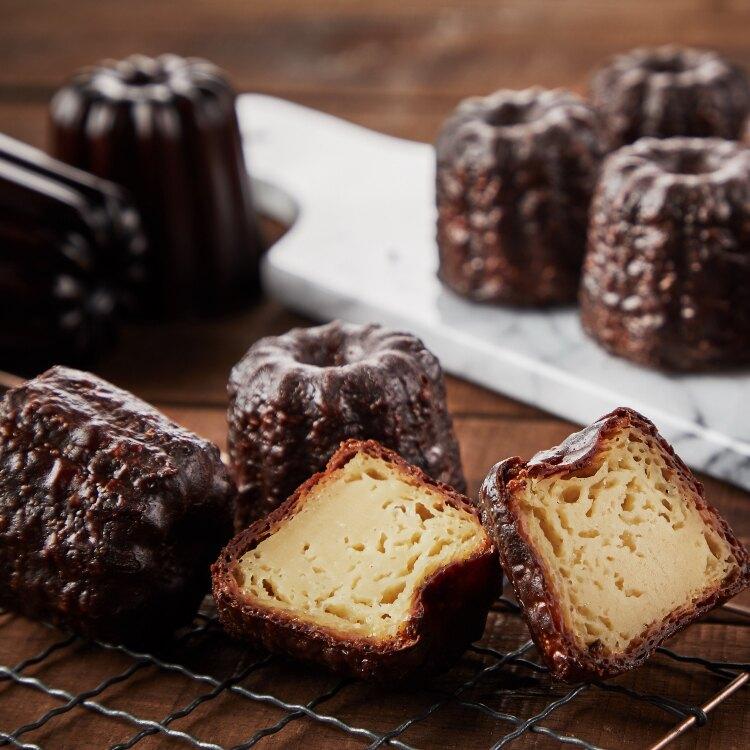 大成食品|巴黎十五可麗露禮盒(六顆/盒) 母親節蛋糕 甜點 伴手禮 法式