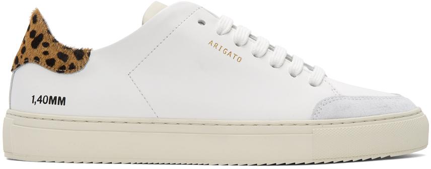 Axel Arigato 白色 Triple Clean 90 Animal 运动鞋