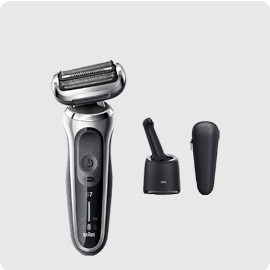 小倉家 【70-S7001CC】電動刮鬍刀 新7系列 刮鬍刀 往復式 自動感應 防水 快充