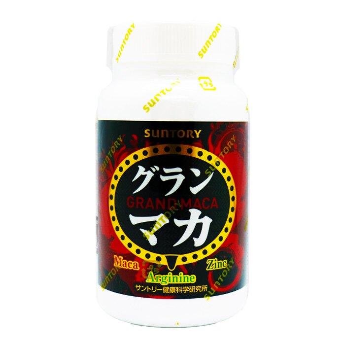 SUNTORY 三得利- 御瑪卡 精胺酸+鋅 120顆/瓶【i -優】