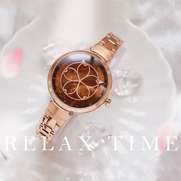 RELAX TIME 年度設計錶款 綻放系列 櫻花手錶(RT-72-5)