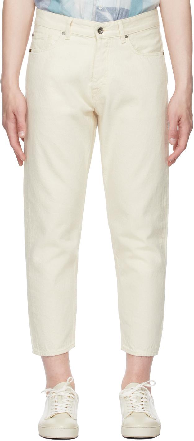 Tiger of Sweden Jeans 灰白色 Jud 有机棉牛仔裤