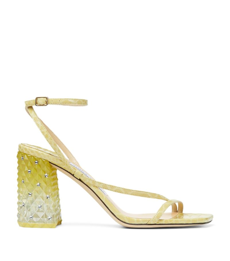 Jimmy Choo Art 85 Leather Sandals