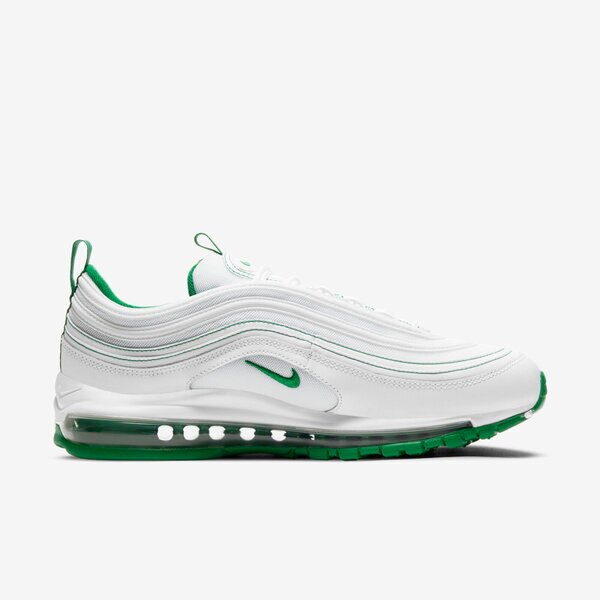 Nike Air Max 97 [DH0271-100] 男鞋 運動 休閒 氣墊 緩震 舒適 彈力 抓地力 穿搭 白 綠