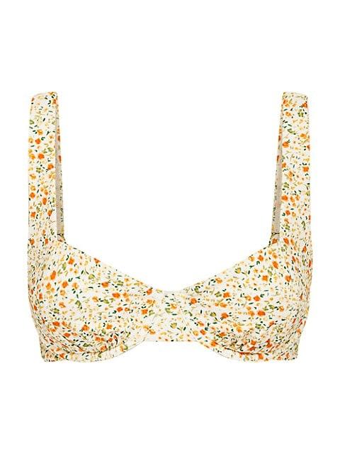 Le Jardins Balconette Bikini Top