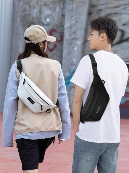 胸包 胸包男側背包時尚潮流斜背包腰包休閒運動戶外多功能學生小背包女 【618 大促】