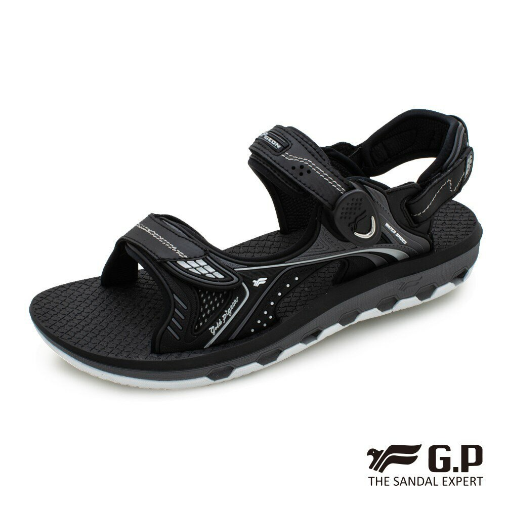 【GP】舒適星辰涼拖鞋(G9251)黑色/黑紅/藍色 G.P
