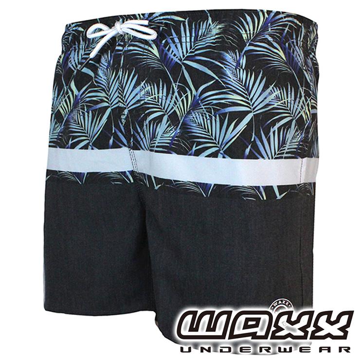 ★服飾春夏優惠3折★WAXX 熱浪系列-叢林冒險快乾型男15英吋海灘褲,181WA-MB32718,短褲