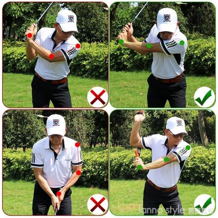 【九折】高爾夫旋轉揮桿練習器 室內揮桿平面動作矯正糾正器轉腰提高揮速