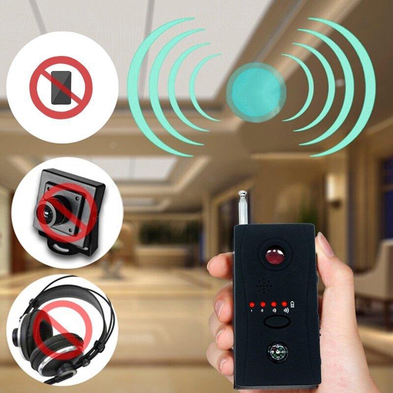 號電波檢測儀 反竊聽監防錄音干擾屏蔽器探測器設備cc308+無線信 百淘百樂