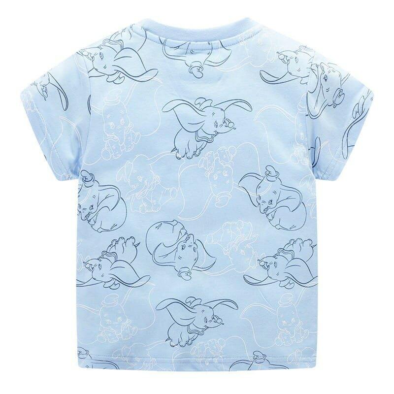 現貨  Jumping Meters 夏季 歐美風純棉卡通上衣 中小童 男女童