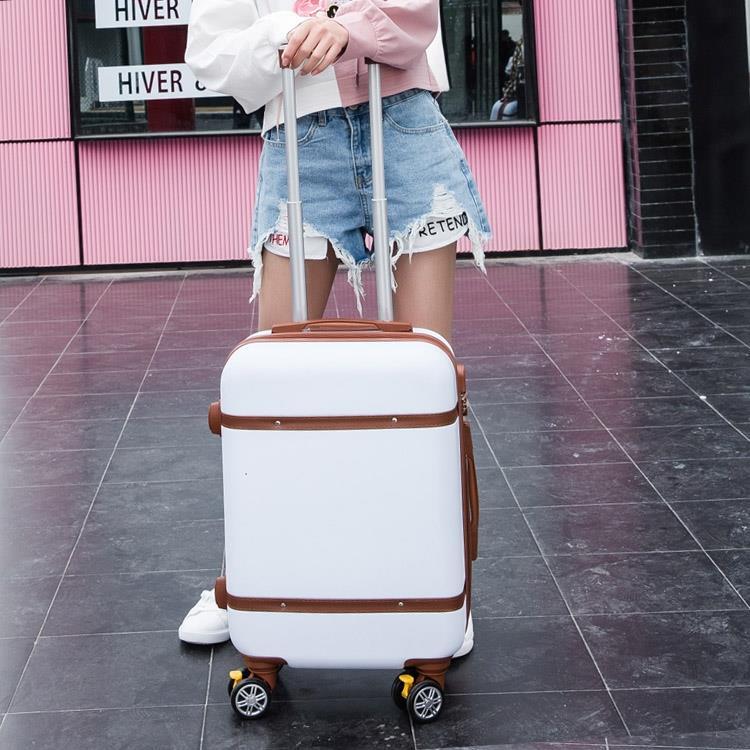 韓版行李箱小清新24拉桿箱萬向輪女男學生密碼箱20寸28旅行箱皮箱【免運】