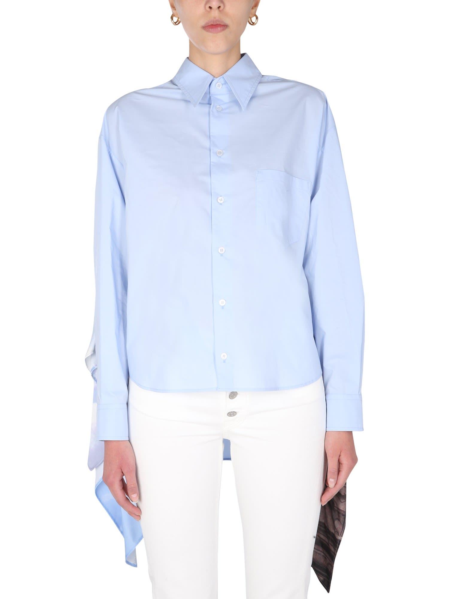 MM6 Maison Margiela Sky Scarf Shirt