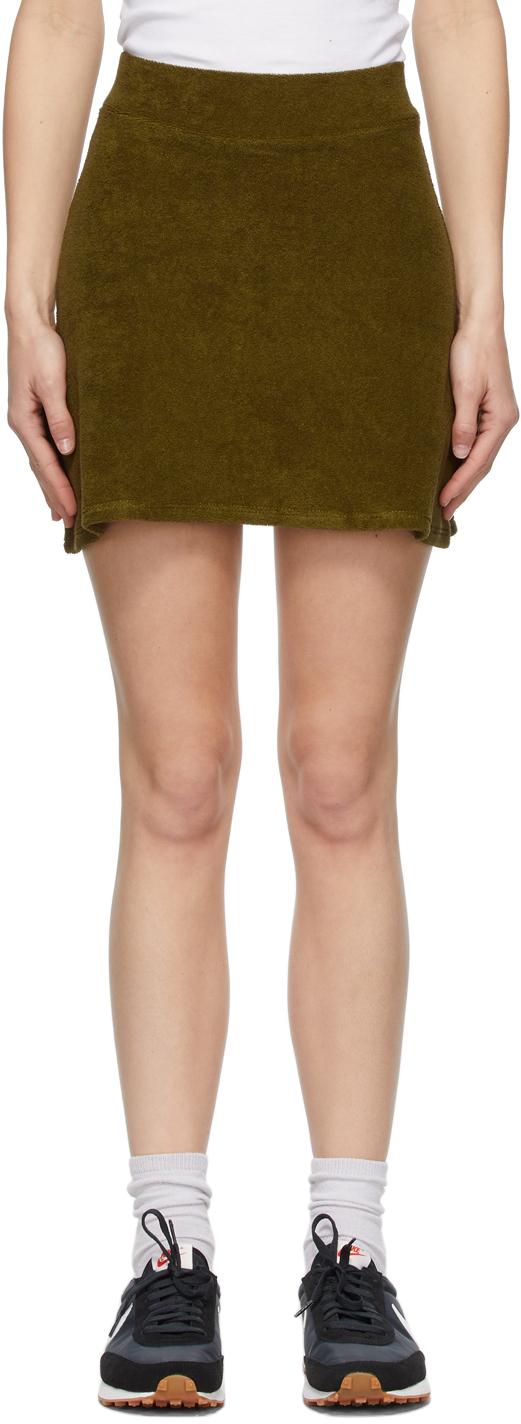 Gil Rodriguez 绿色 Tennis 短裙