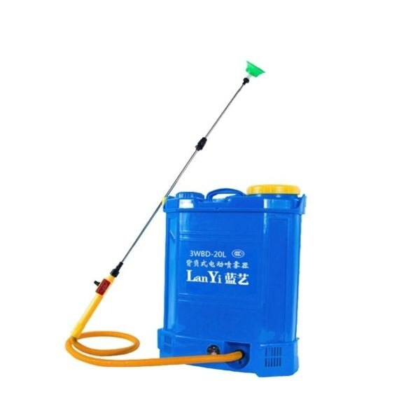 24H現貨20L噴霧器噴藥器電動農用噴藥機背負式多功能充電打藥機高壓鋰電 【韓語空間】