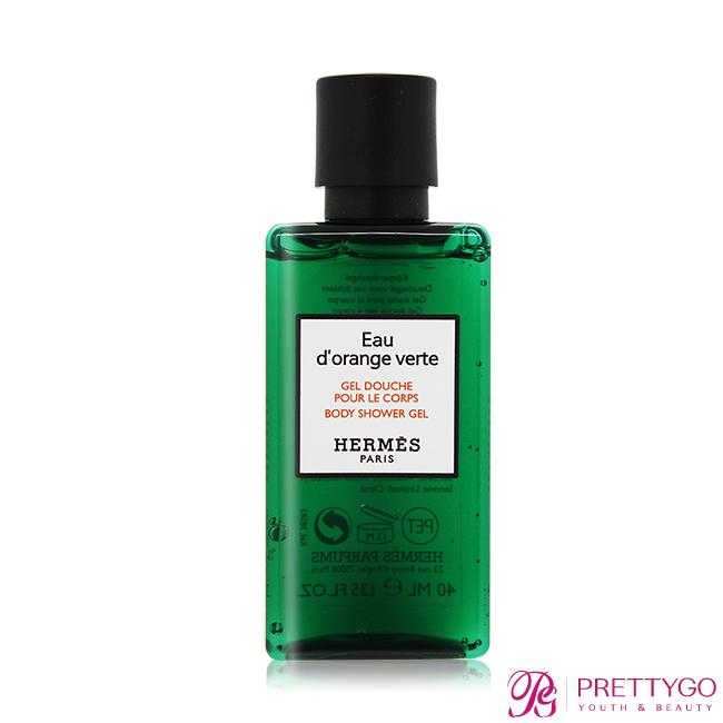 HERMES 愛馬仕 D'Orange Verte 橘綠之泉沐浴精(40ml)-國際航空版【美麗購】