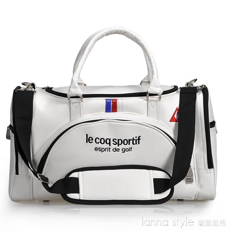 【九折】高爾夫運動衣物包 男女雙層大容量戶外旅行衣服包 可獨立放鞋球包