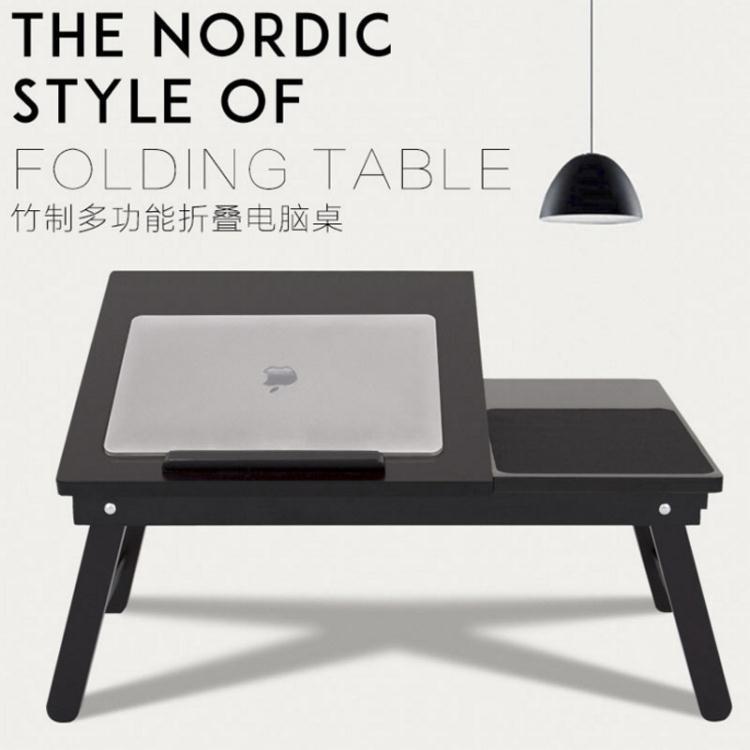 摺疊電腦桌床用辦公桌筆記本床上桌學生小書桌宿舍用懶人電腦桌【免運】