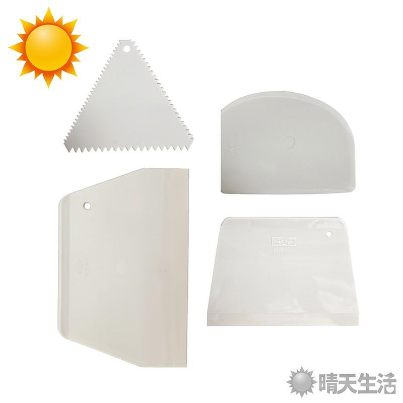 抗菌刮板系列 台灣製 四款可選 長約10.5-19.6cmx寬9.5-12.8cm 烘焙工具 刮板 刮刀【晴天】