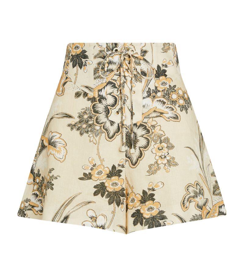 Alemais Lucinda Corset-Fastening Shorts