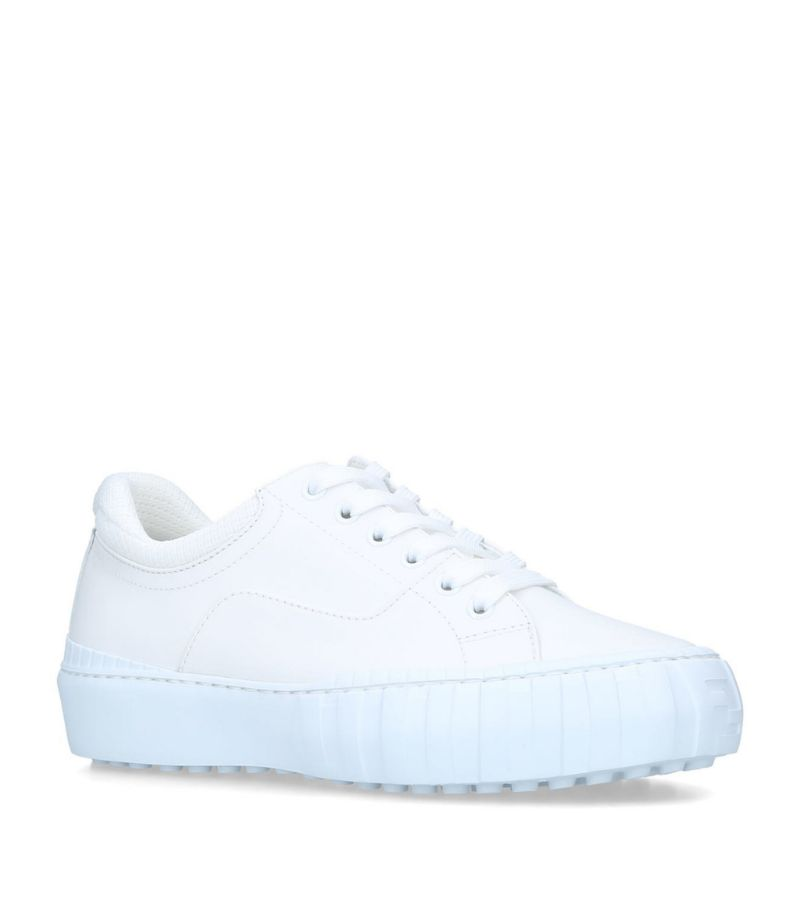 Fendi Leather Force Sneakers