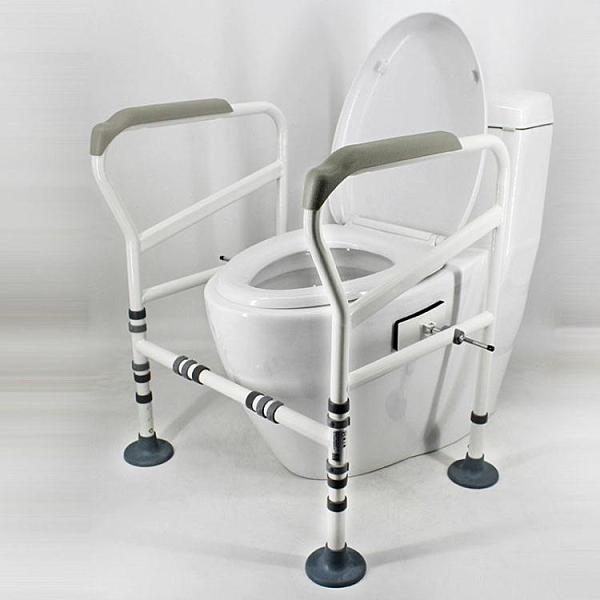 廁所扶手 馬桶扶手架子老人廁所助力架衛生間浴室殘疾人孕婦坐便器起身扶手