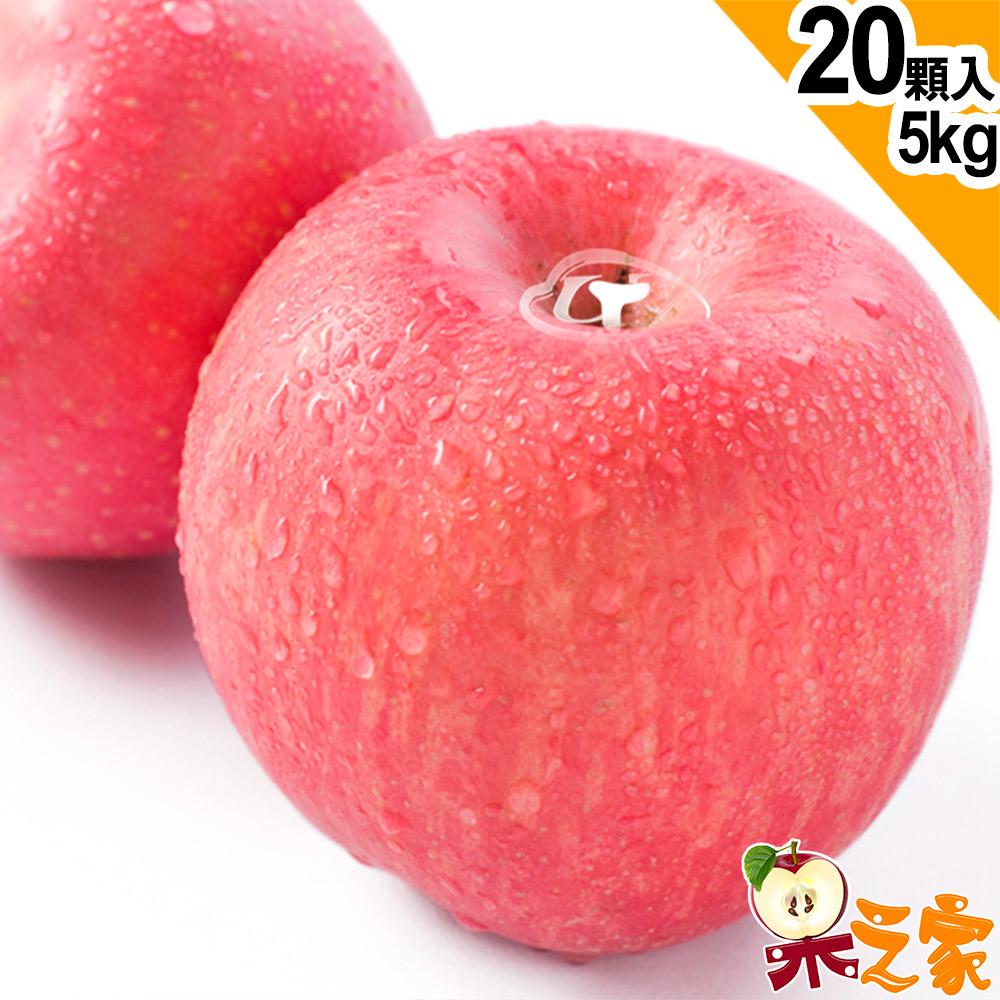 【果之家】日本青森縣特選級富士蘋果5kg1盒(20顆/盒)