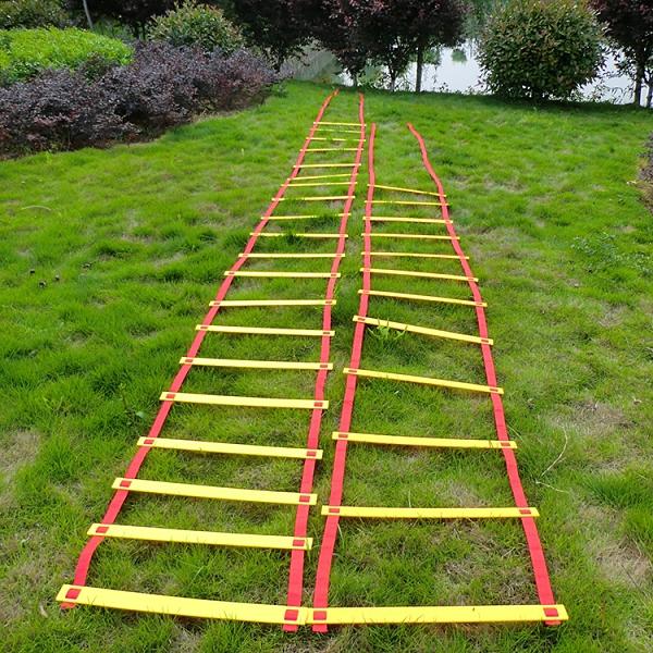 幼兒園早教兒童感統器材體能訓練跳房子戶外親子玩具跳格子敏捷梯ATF 格蘭小鋪