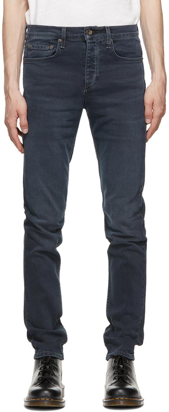 Rag & Bone 蓝色 Fit 2 牛仔裤