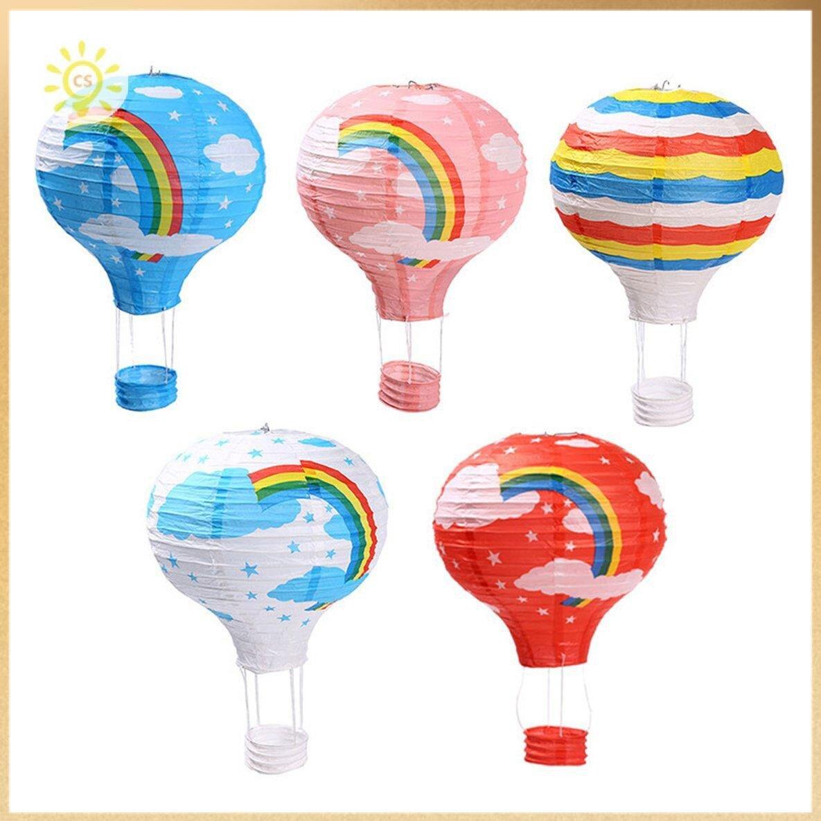 【全館免運】萬聖節裝飾熱氣球紙燈籠學校酒吧商場店慶幼兒園KTV走廊佈置吊飾