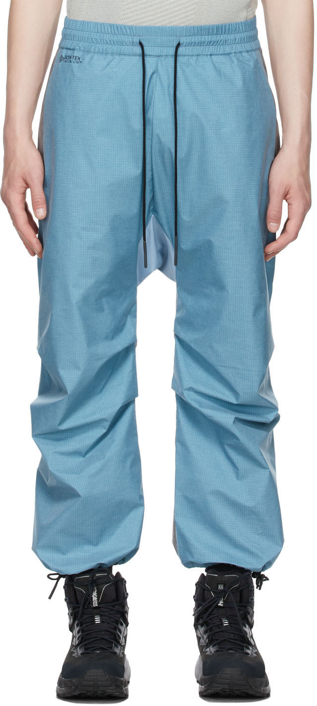 BYBORRE 蓝色 & 灰色 Weight Map Field 运动裤