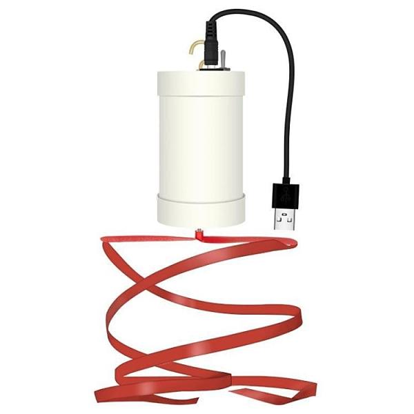 可充電趕蒼蠅風扇熟食店地攤專用小吊扇驅蚊戶外鹵肉廚房蓄電神器 快速出貨