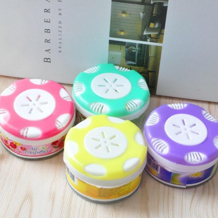 dy250固體芳香劑 (檸檬/薰衣草/玫瑰/蘋果) 除臭劑 去味空氣清新劑