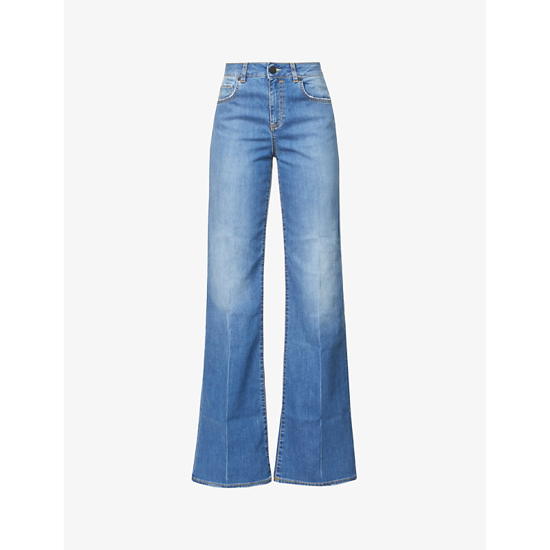 Devon flared high-rise jeans