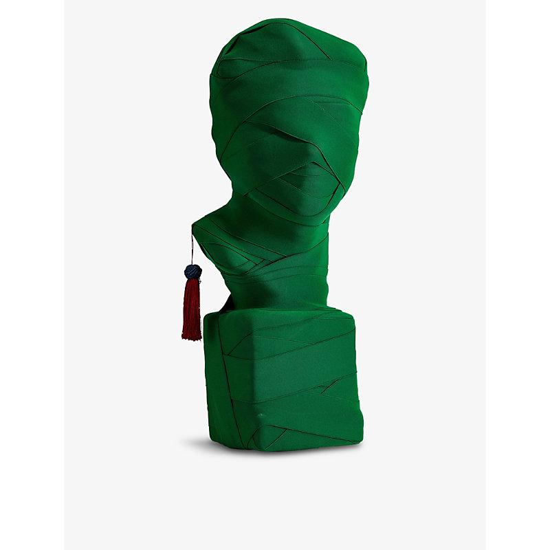 This Is Not A Self Portrait solid plaster sculpture 63cm