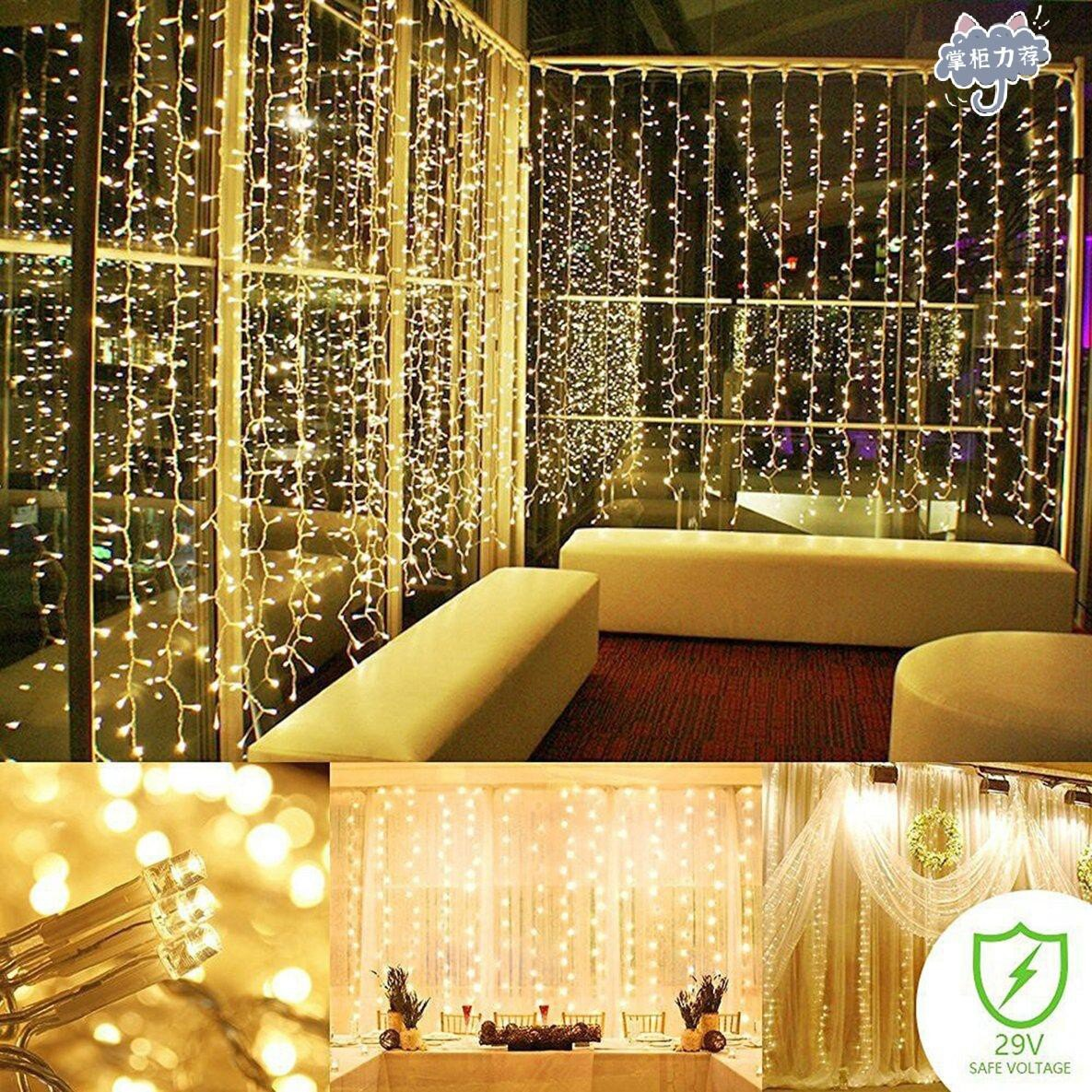 【全館免運】裝修聖誕節燈籠門簾燈籠婚禮燈新品上架 限時特惠