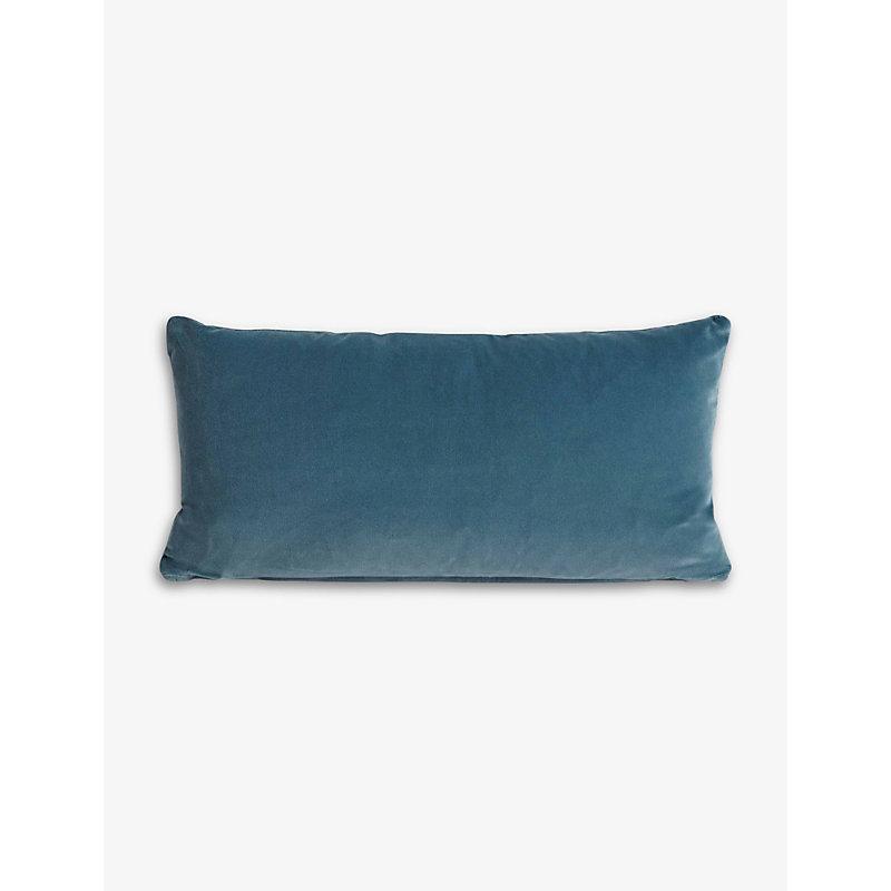 Monroe cotton-velvet blend cushion 35cm x 65cm