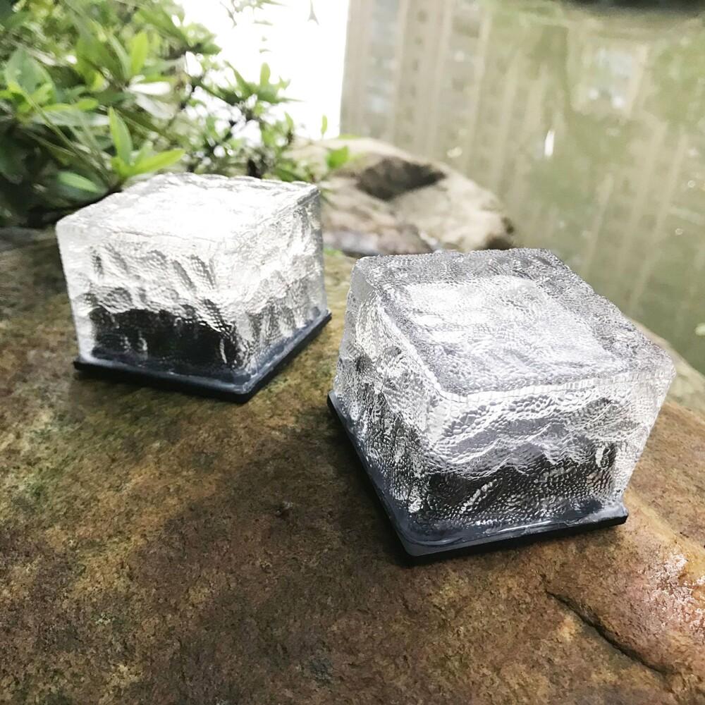 繽朵bondora嚴選 成本價直售 太陽能燈 照明燈 磚頭燈  led太陽能冰磚燈玻璃地磚燈戶