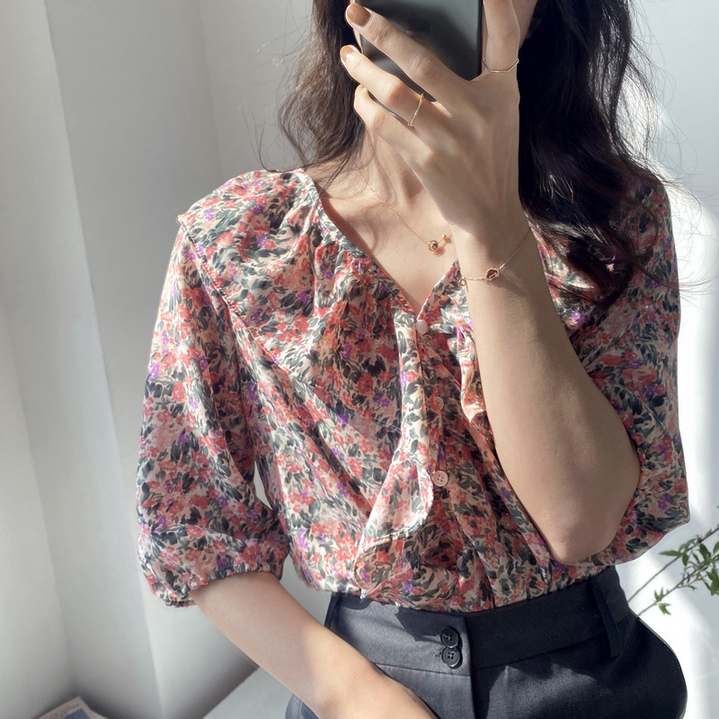 【missy shop】心花朵朵開上衣-2531