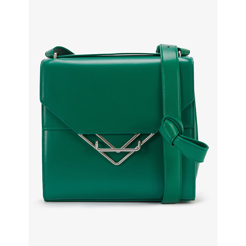 The Clip medium leather shoulder bag