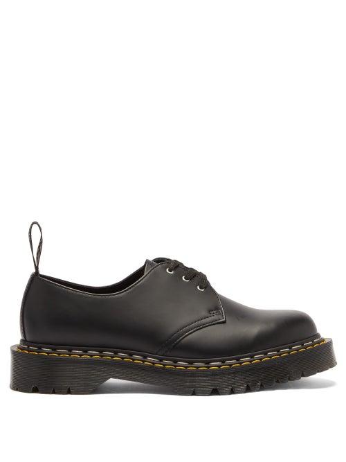 Rick Owens X Dr. Martens - 1461 Bex Leather Derby Shoes - Mens - Black