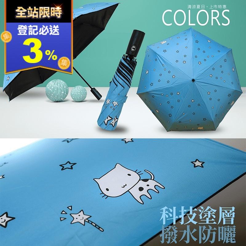 超防曬防風抗UV降溫雨傘