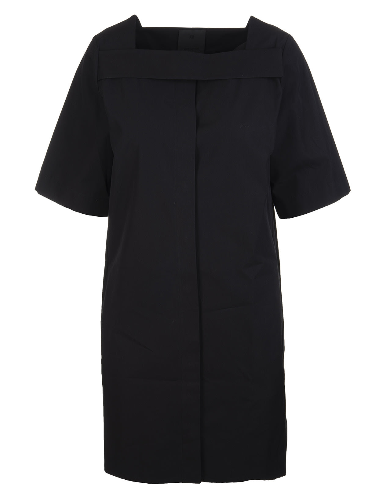 Givenchy Square Neck Short Dress