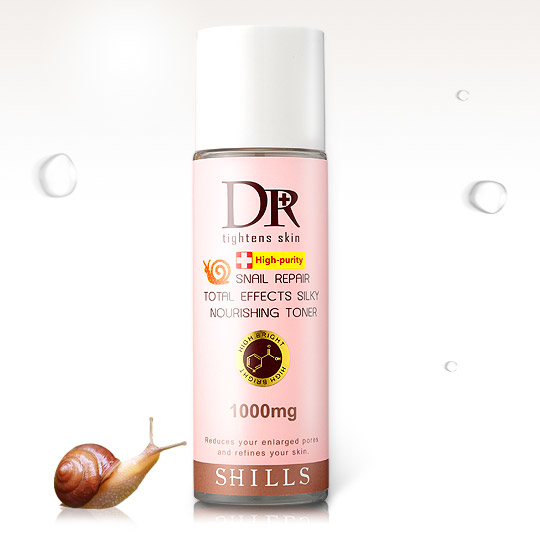 【韓國爆紅】SHILLS Dr.蝸牛原液彈潤全效拉絲化妝水精華