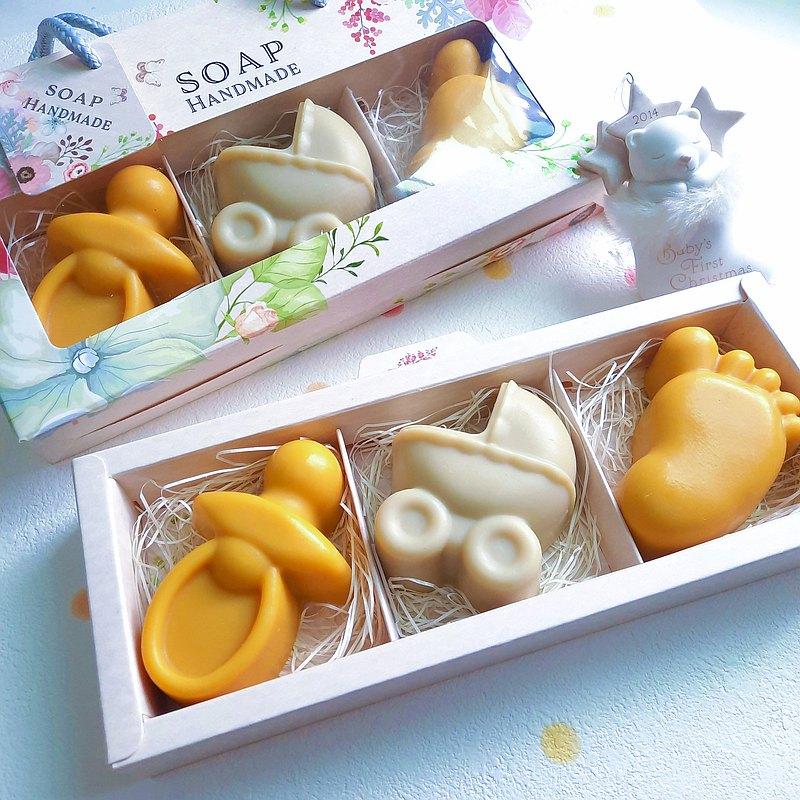 【彌月禮盒】Vivian's 寵愛媽咪寶貝 |呵護禮盒(三入) | 限量