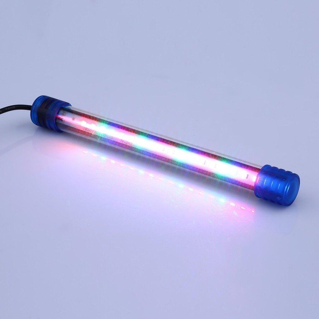 【全館免運】20CM 跨燈 LED高透光 LED燈 跨燈 魚缸燈 水族燈 燈具 藍白燈 全白燈 水草燈 海水燈  CS家裝燈具