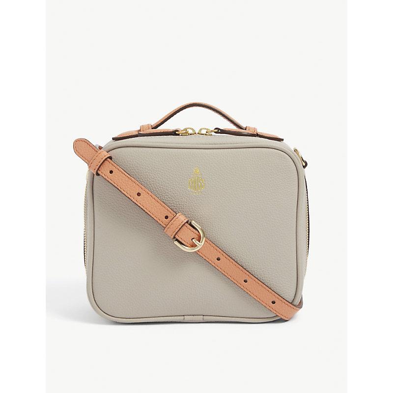 Madison mini leather cross-body bag