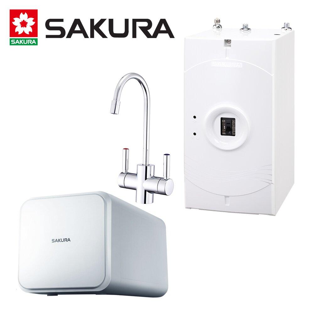 SAKURA櫻花 廚下加熱器P0553A+RO淨水器P-0231 送安裝