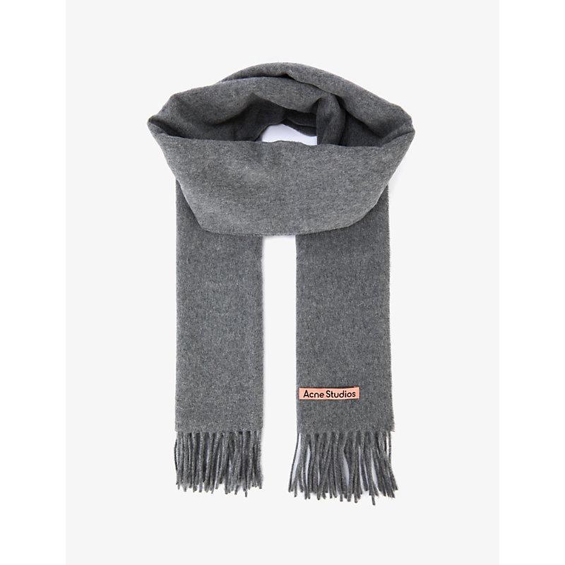 Canada narrow wool scarf