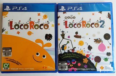 美琪PS4遊戲 樂克樂克1 樂克樂克2 Loco Roco 1+2 中文英文